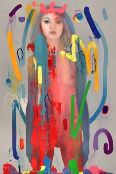 "Erik Jones Makes European Solo Debut with ""In Colour""   Hi-Fructose Magazine"