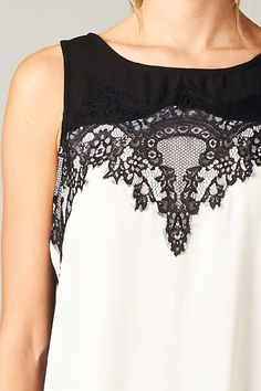 Lace Kelly Top | Awesome Selection of Chic Fashion Jewelry | Emma Stine Limited