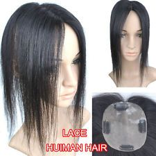 40g Virgin Real Human Hair Bangs Replacement Top Piece Clip In Extensions