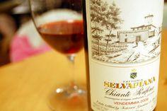 Wine to try:  Chianti Rufina (100 percent Sangiovese) by Selvapiana (Specs)