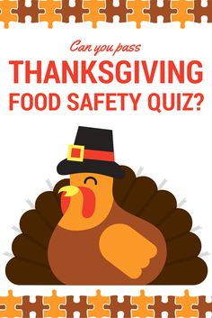 Can you pass this Thanksgiving Food Safety Quiz? Thanksgiving Recipes, Holiday Recipes, Holiday Ideas, Food Safety Tips, Disaster Preparedness, Culinary Arts, Nutrition Tips, Wellness Tips, Safe Food