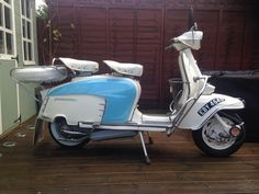 Lambretta Series 3 LI Special | So guys this is why I left, the lammy is looking cool and is getting me out and about with some diamond blokes!