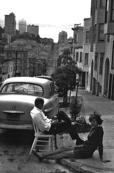Henri Cartier-Bresson, San Francisco, 1960s