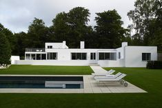 Arne Jacobsen house in Klampenborg, currently on the market for 9,75 million dollars