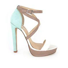 RMK Lashess Mint Leather Multi Heels