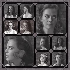 Possible hairstyles for Natalie's portrait of Maria in West Side Story - 1961…