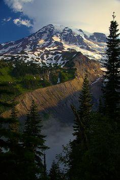 Mount Rainier, Washington; photo by Bern Harrison