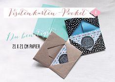*ann.meer: DIY: Visitenkarten-Pocket