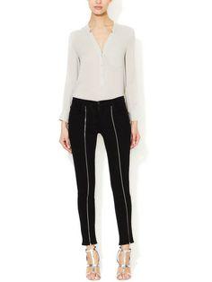 Jewel Zip Skinny Jean :: J Brand. Simple and sexy
