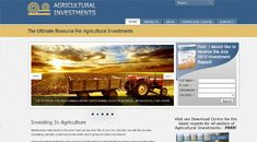 AgriculturalInvestments.net  Brought to you by Voodoo Designz