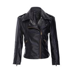 Ladies Fashion Streetwear Spring Autumn Faux Leather Black Jacket Coat Women Slim Crop Top Short Female Motorcycle Jackets Cheap -  Get free shipping. We give you the information of finest and low cost which integrated super save shipping for Ladies Fashion Streetwear Spring Autumn Faux Leather Black Jacket Coat Women Slim Crop Top Short Female Motorcycle Jackets Cheap or any product promotions.  I hope you are very happy To be Get Ladies Fashion Streetwear Spring Autumn Faux Leather Black…