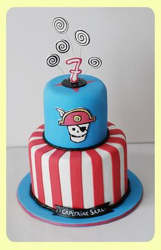 pirate party ~ cake