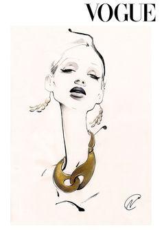 Stylish fashion illustration // Nuno DaCosta