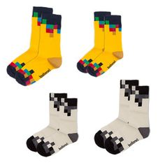 TV Socks 4 Pack, $28, now featured on Fab.