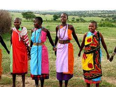 Masai Women    Masai Mara, Kenya
