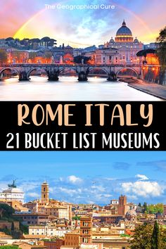 Rome Museums, Rome Guide, Visiting The Vatican, Museum Guide, Day Trips From Rome, Sistine Chapel, Rome Travel, Unusual Things, Ancient Ruins