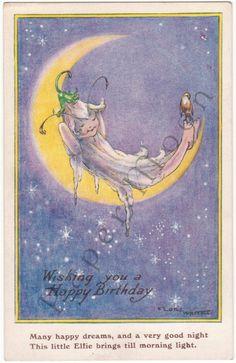 Flora White by postcard