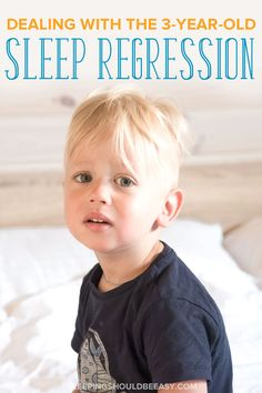 Dealing with the 3 year old sleep regression is frustrating. Learn what to do when your toddler suddenly won't sleep through the night or stay in bed. Toddler Sleep, Kids Sleep, Child Sleep, Baby Sleep, Gentle Parenting, Parenting Advice, Children Will Listen, Bebe