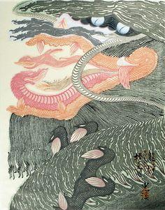 """Dedicated to Arcimboldo"" series / Dragons by Tsuruya Kokei    〈アルチンボルドに捧ぐ五題〉の内 龍 弦屋光溪"