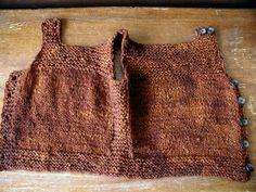 Ravelry: Pebble (Henry's Manly Cobblestone-Inspired Baby Vest) by Nikol Lohr