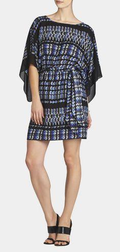 BCBG Max Azria  Lois Kimono Dress