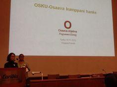 Osaava Forum Turussa marraskuussa 2013.