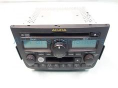 Used 2003 Acura MDX AM/FM/6 DISC CD & RADIO  39100S3VA60ZA. Purchase from http://www.ahparts.com/buy-used/2003-Acura-MDX-AM-FM-6-DISC-CD-RADIO-39100S3VA60ZA/101530-1?utm_source=pinterest
