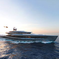 Vripack Unveils 66m Fossil-Free Hybrid Superyacht Concept 'Futura' Diesel Hybrid, Electric Winch, Loft Style, Upper Deck, Transportation Design, Biodegradable Products, In The Heights, Fossil, Whale