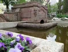 Hidden Berlin square: the historic Lietzensee waterfall in this secret Berlin garden.
