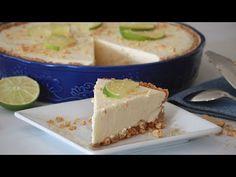 Pie de limón esponjadito y delicioso - YouTube Coconut Flan, Fruit Compote, Tres Leches Cake, Mini Cheesecakes, Apple Desserts, Trifle, Kiwi, Mexican Food Recipes, Catering