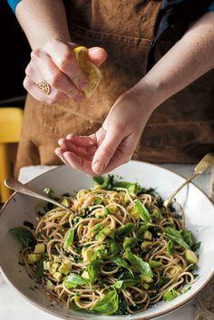 The Pool | Food and home - Avocado lemon spaghetti