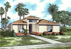 Home Plan AA1720-0315 is a great single story home plan with 3 bedrooms and 2 bathrooms. This house plan has 1720 total living square