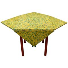 """1980's """"Memphis"""" drop leaf table 