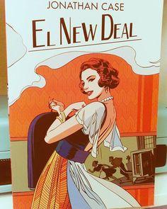 El New Deal Jonathan Case #22RetoLiterario2016 #libros #leer #leerdasueños