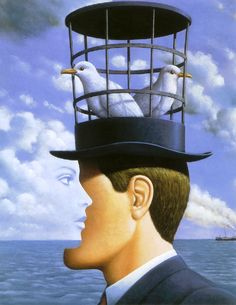 Rene Magritte ✏✏✏✏✏✏✏✏✏✏✏✏✏✏✏✏ ARTS ET PEINTURES - ARTS AND PAINTINGS ☞ https://fr.pinterest.com/JeanfbJf/pin-peintres-painters-index/ ══════════════════════ Gᴀʙʏ﹣Fᴇ́ᴇʀɪᴇ ﹕☞ http://www.alittlemarket.com/boutique/gaby_feerie-132444.html ✏✏✏✏✏✏✏✏✏✏✏✏✏✏✏✏