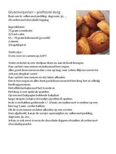 glutenvrije soezen(deeg)