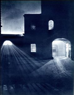 London at Night in the 30s