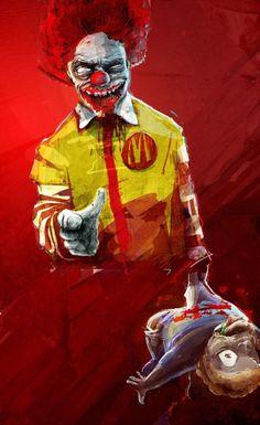 Ronald you're the devil !