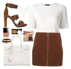 """Turn back time"" by tigerlily789 ❤ liked on Polyvore featuring The Row, Dorothy Perkins, Alexander Wang, Yves Saint Laurent, Cartier and Bobbi Brown Cosmetics"