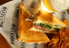 """(Lunch) Calls itself a """"butcher shop and swine bar,"""" they serve the best muffuletta, named in 2012 from Food and Wine on list of """"Best Sandwich Shops""""  for the sammy!"""