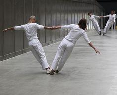 Trisha Brown: Leaning Duets (1970), Trisha Brown Dance Company, Tate Modern