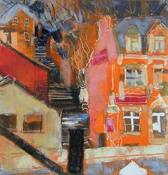 '108 Steps in Macclesfield' by Anne Aspinall