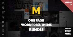 wpthemeclub: Maniva – One Page WordPress Theme