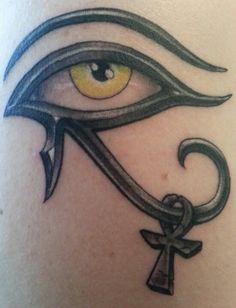 egyptian tattoo ankh eye of horus - Google Search