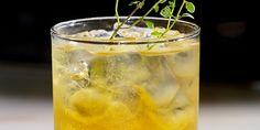 #5 Adam's Apple Ingredients:                                     1 oz SKYY Vodka / 2 oz golden apple juice / 2 oz ginger ale - sprig thyme