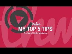 My Top 5 Tips For Social Media Marketing - http://downlinebuilderdirectblog.com/my-top-5-tips-for-social-media-marketing/