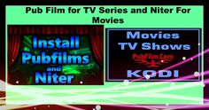 New Niter addon along with PUB film: Best for movies and tv series Kodi ...