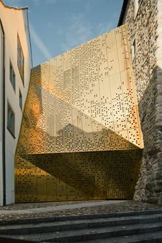 Rapperswil-Jona Municipal Museum, Switzerland.  Designed in 2007 by Mlzd Architects (Swiss) to connect the medieval buildings of the former Heritage Museum