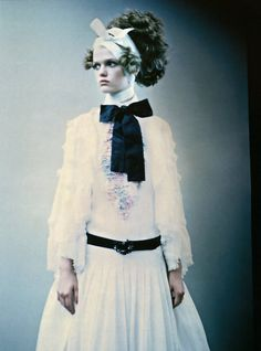 "Cool Chic Style Fashion: ""So Splendid and Magic"" by Paolo Roversi for Vogue Italia Supplement, March 2005"