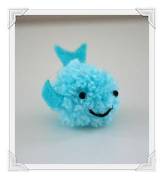 Cute Pom Pom Sea Creatures Tutorial